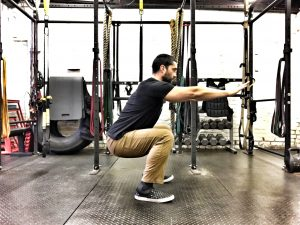 Bottom of Squat Hold