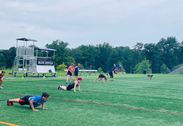 Green Workouts: UA On the Field